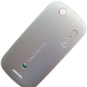 Akkukansi / Takakansi for Sony Ericsson W20 / W20i silver