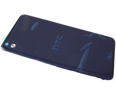 Akkukansi / Takakansi +out NFC HTC Desire 816 D816n navy blue