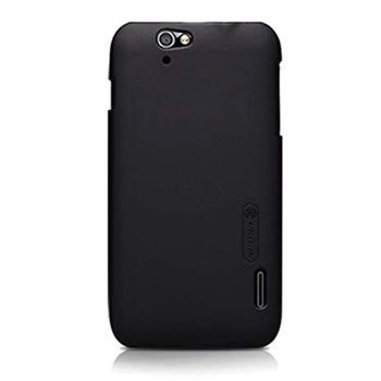 Alcatel OT-986 Nilkin Super Frosted Shield Suojakotelo Musta