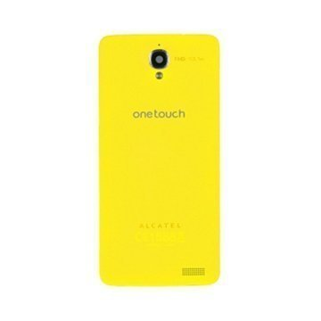 Alcatel One Touch Idol X Battery Cover Yellow
