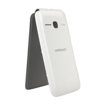 Alcatel One Touch M`Pop 5020 Flip Kotelo FC5020 Valkoinen