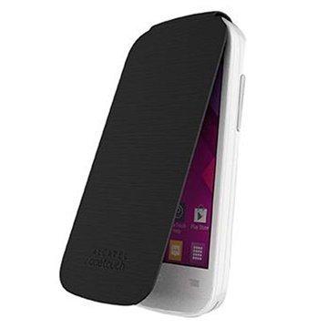 Alcatel One Touch Pop C3 Läppäkotelo FC4033 Sininen / Musta