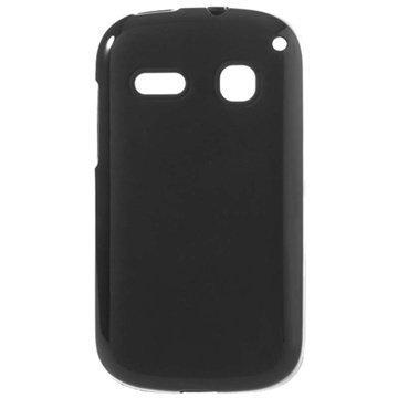 Alcatel One Touch Pop C3 TPU-Kotelo Musta