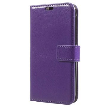 Alcatel One Touch Pop C7 Classic Lompakkokotelo Violetti