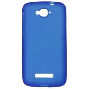 Alcatel One Touch Pop C7 Matta TPU Suojakuori Sininen