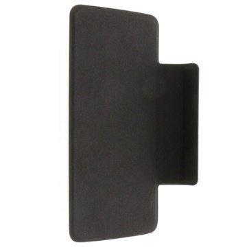 Alcatel One Touch Scribe Easy Kannellinen Kotelo FC8000 Musta