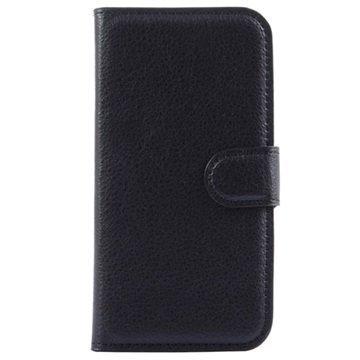 Alcatel Pop 2 (4.5) Pop 2 (4.5) Dual SIM Kuvioitu Lompakkokotelo Musta