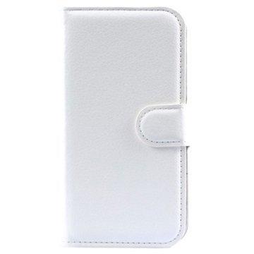 Alcatel Pop 2 (4.5) Pop 2 (4.5) Dual SIM Kuvioitu Lompakkokotelo Valkoinen