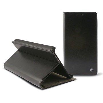 Alcatel Pop S7 Ksix Taitettava Kotelo Musta