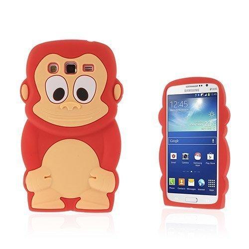 Alex Punainen Samsung Galaxy Grand 2 Nahkakotelo