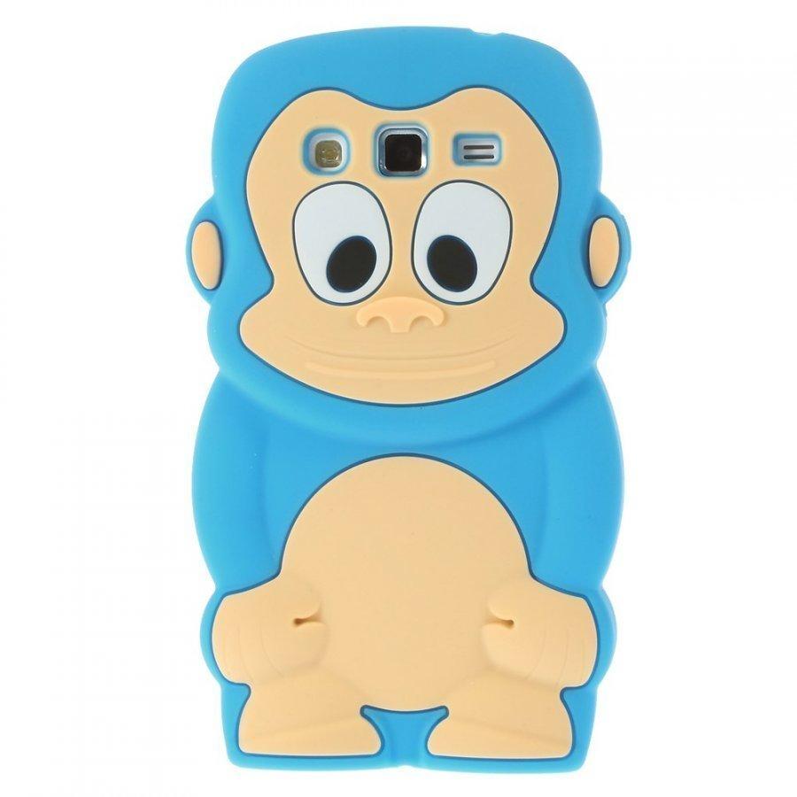 Alex Sininen Samsung Galaxy Grand 2 Nahkakotelo