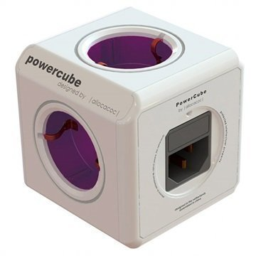 Allocacoc PowerCube ReWirable 5-Suuntainen Pistorasia