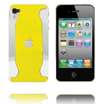 Alpha Keltainen Iphone 4 Suojakuori