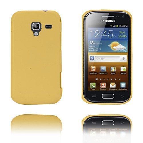 Alpha Keltainen Samsung Galaxy Ace 2 Suojakuori