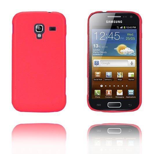 Alpha Kuuma Pinkki Samsung Galaxy Ace 2 Suojakuori