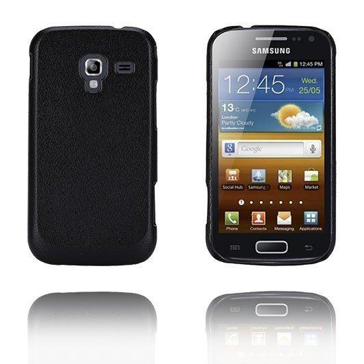 Alpha Musta Samsung Galaxy Ace 2 Suojakuori