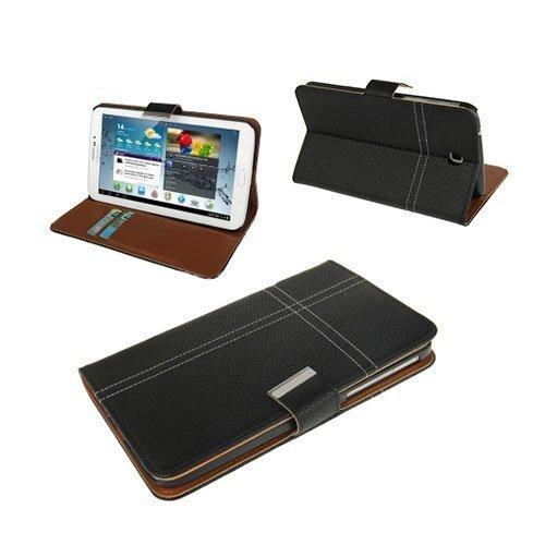 Alpha Musta Samsung Galaxy Tab 3 7.0 Nahkakotelo