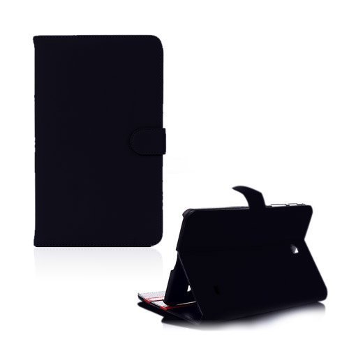 Alpha Musta Samsung Galaxy Tab 4 8.0 Nahkakotelo