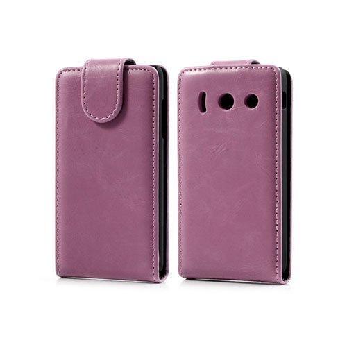 Alpha Pinkki Huawei Ascend Y300 Nahkakotelo
