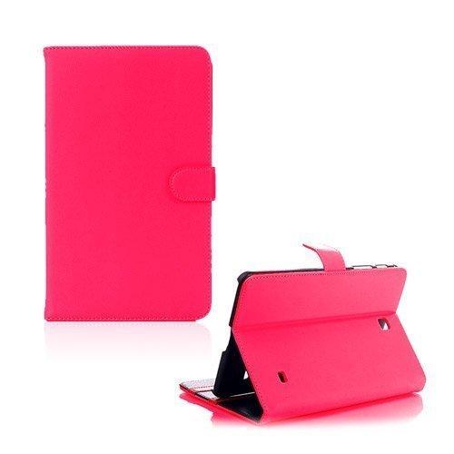 Alpha Pinkki Samsung Galaxy Tab 4 8.0 Nahkakotelo
