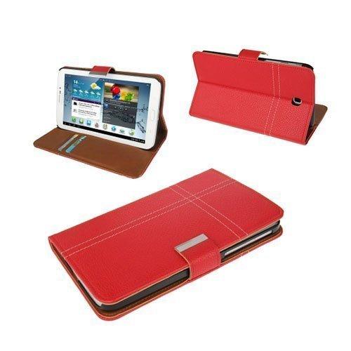 Alpha Punainen Samsung Galaxy Tab 3 7.0 Nahkakotelo