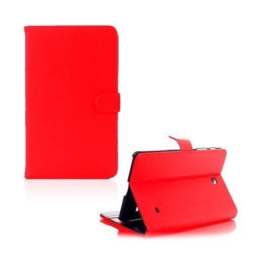 Alpha Punainen Samsung Galaxy Tab 4 8.0 Nahkakotelo