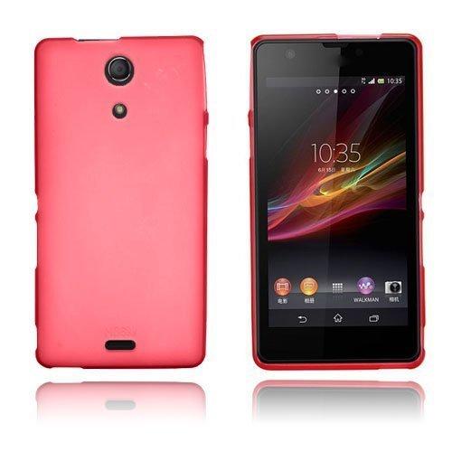 Alpha Punainen Sony Xperia Zr Suojakuori