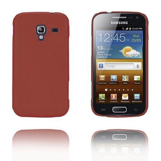 Alpha Ruskea Samsung Galaxy Ace 2 Suojakuori