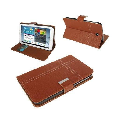 Alpha Ruskea Samsung Galaxy Tab 3 7.0 Nahkakotelo