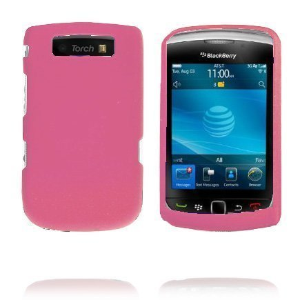 Alpha Shell Pinkki Blackberry Torch 9800 Suojakuori