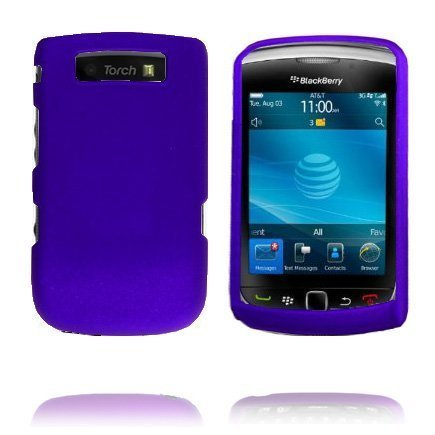 Alpha Shell Violetti Blackberry Torch 9800 Suojakuori