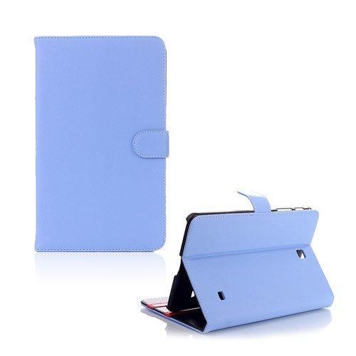 Alpha Vaalea Sininen Samsung Galaxy Tab 4 8.0 Nahkakotelo