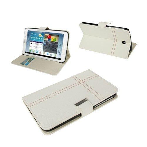 Alpha Valkoinen Samsung Galaxy Tab 3 7.0 Nahkakotelo