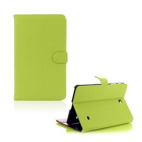 Alpha Vihreä Samsung Galaxy Tab 4 8.0 Nahkakotelo