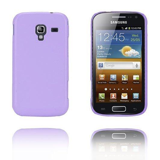 Alpha Violetti Samsung Galaxy Ace 2 Suojakuori