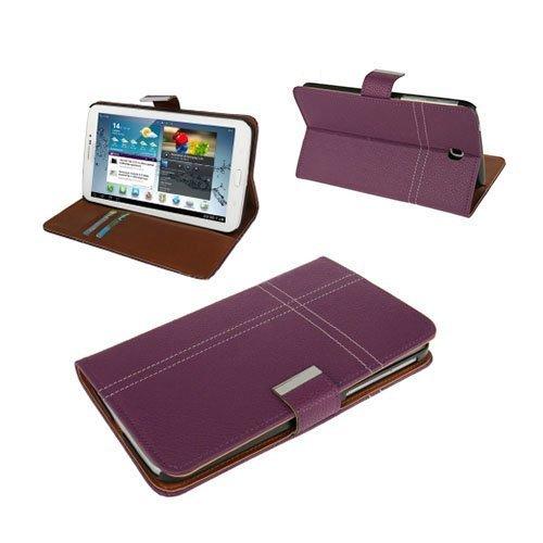 Alpha Violetti Samsung Galaxy Tab 3 7.0 Nahkakotelo