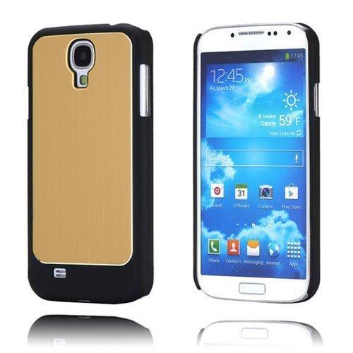 Alu-Back Kulta Samsung Galaxy S4 Suojakotelo
