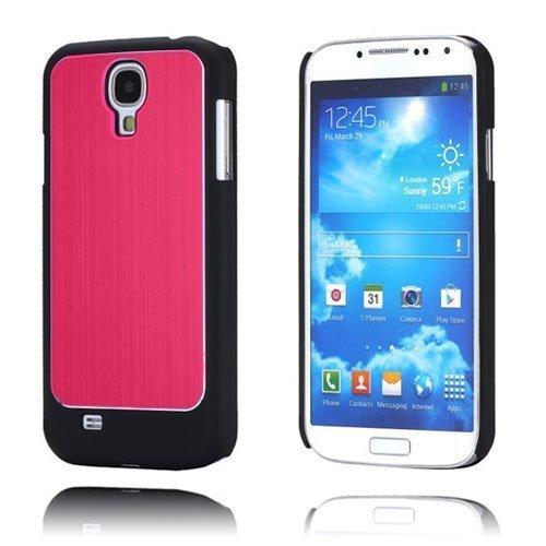 Alu-Back Punainen Samsung Galaxy S4 Suojakotelo