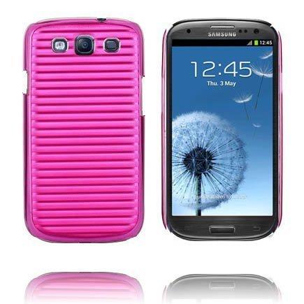 Alu Back Ver. Ii Kuuma Pinkki Samsung Galaxy S3 Suojakuori
