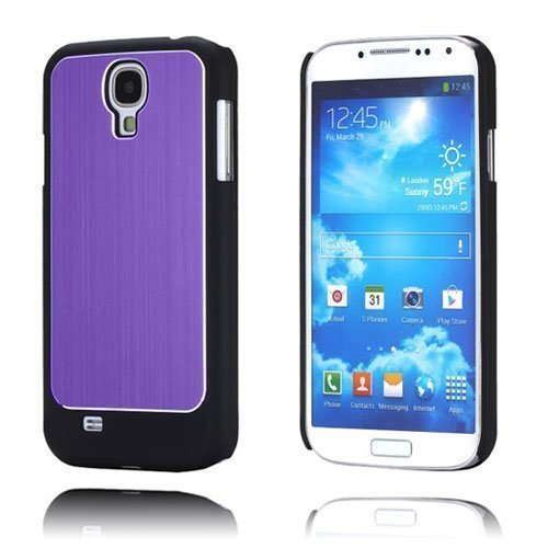 Alu-Back Violetti Samsung Galaxy S4 Suojakotelo