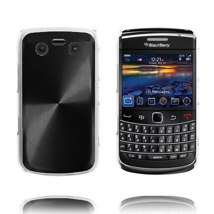 Alu Blade Musta Blackberry Bold 9700 / 9020 Suojakuori