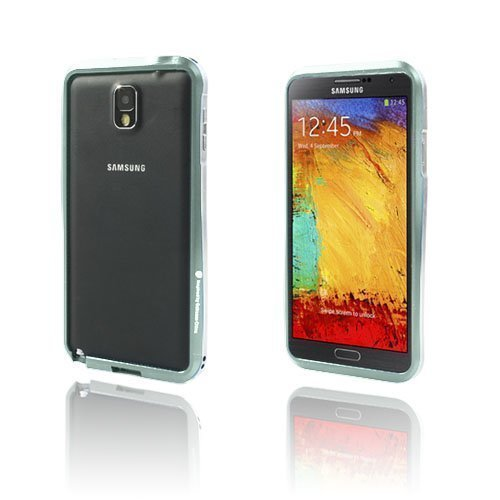 Alu Bumper Hopea Samsung Galaxy Note 3 Alumiininen Bumper Suojakehys