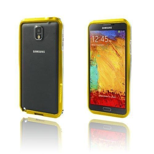 Alu Bumper Kulta Samsung Galaxy Note 3 Alumiininen Bumper Suojakehys