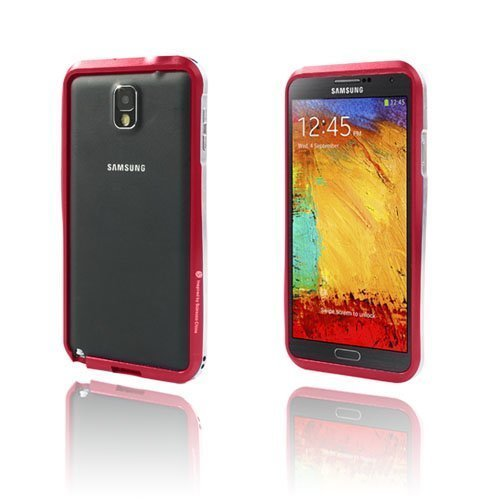Alu Bumper Punainen Samsung Galaxy Note 3 Alumiininen Bumper Suojakehys