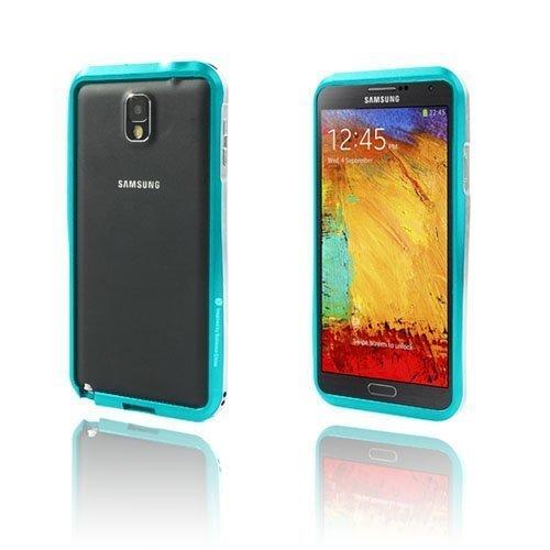 Alu Bumper Vaaleansininen Samsung Galaxy Note 3 Alumiininen Bumper Suojakehys