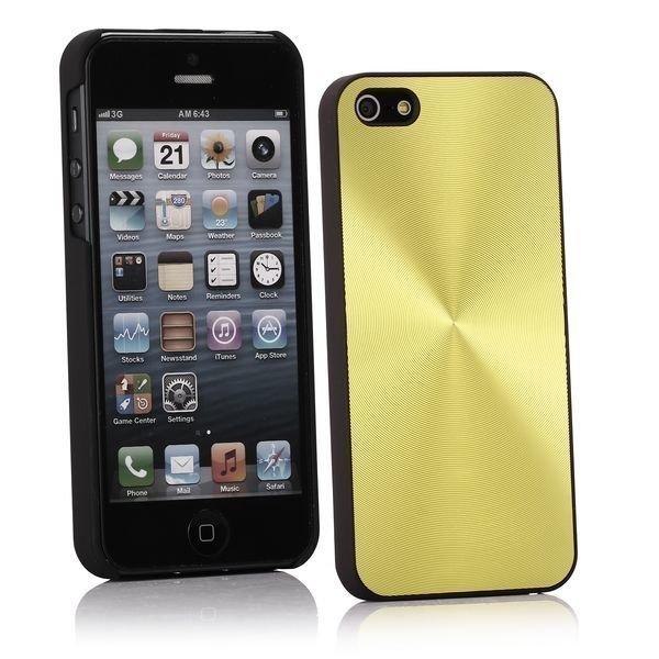 Alu Cd-Lines Keltainen Iphone 5 Suojakuori