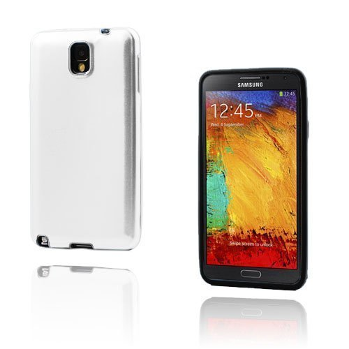Alu Guard Samsung Galaxy Note 3 Alumiinikuori Hopea