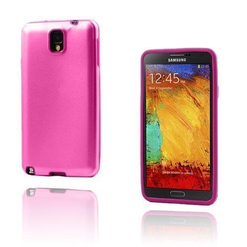 Alu Guard Samsung Galaxy Note 3 Alumiinikuori Kuuma Pinkki