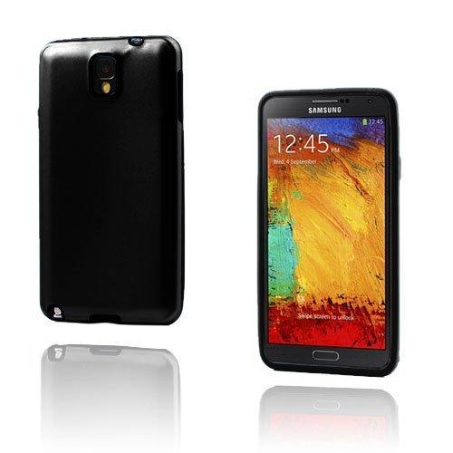 Alu Guard Samsung Galaxy Note 3 Alumiinikuori Musta