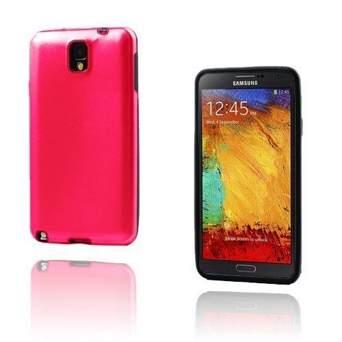 Alu Guard Samsung Galaxy Note 3 Alumiinikuori Punainen